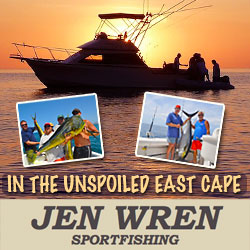 East Cape Baja sportfishing charters with Jen Wren