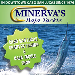Cabo fishing charters and tackle shop in downtown