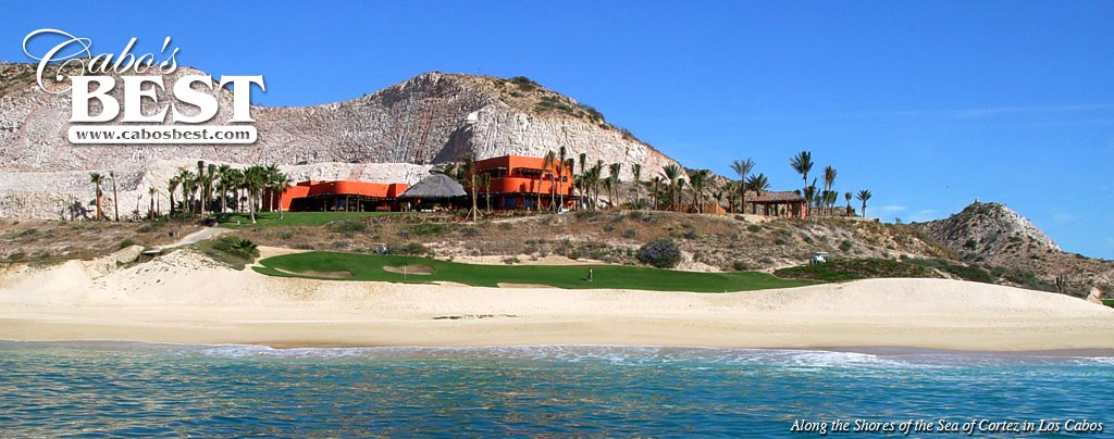 Beachfront Villa in the Los Cabos Corridor, Golf Course in Foreground