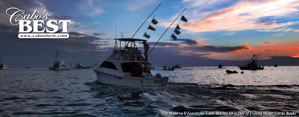 Charter fishing boats in Cabo San Lucas