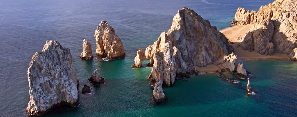 Aerial photo of Land's End, Cabo San Lucas