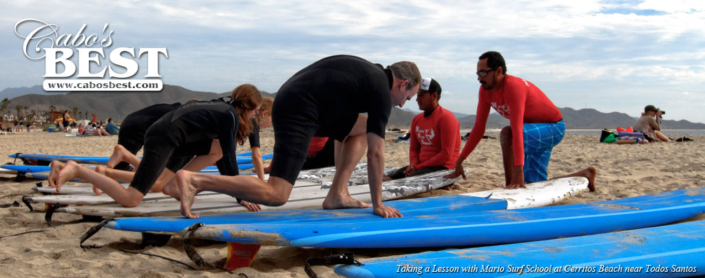 Mario Surf School - Surfing Lessons in Los Cabos, Mexico