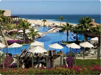 Pueblo Bonito Sunset Beach Resort on the Pacific side of Cabo San Lucas caters to families with children.