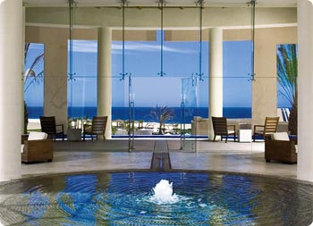 Lobby view to the Pacific at Pueblo Bonito Pacifica Resort & Spa, An Adult's Only Resort in Los Cabos
