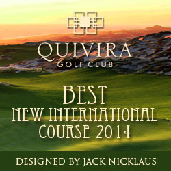 New Jack Nicklaus Golf Club opens in Cabo, October, 2014
