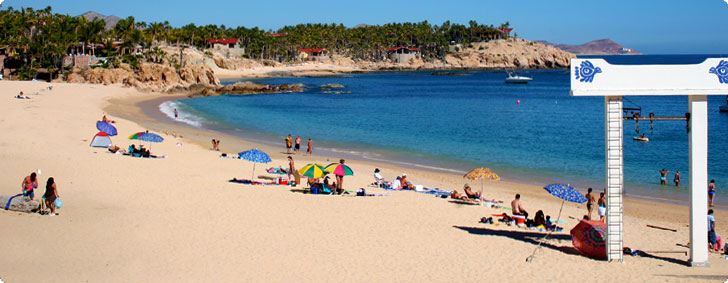Chilleno Bay - One of Cabo's best beaches for swimming and snorkeling