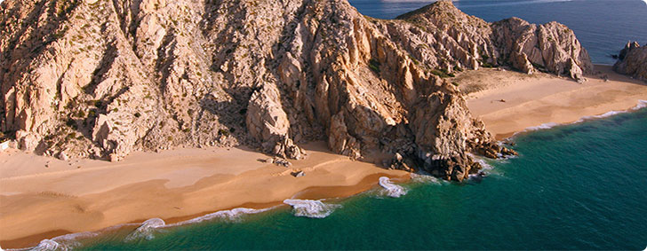 Aerial Photo Of Solmar Divorce And Lover S Beach In Cabo San Lucas
