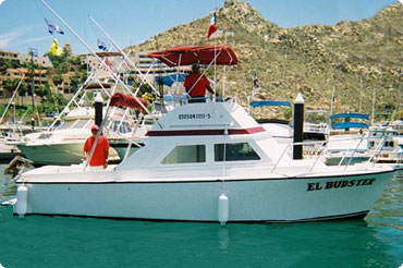 Cabo charter fishing boat, El Budster of Salvador's Sportfishing