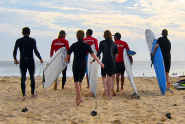 Surfing lessons with Costa Azul Surf Shop in San Jose del Cabo