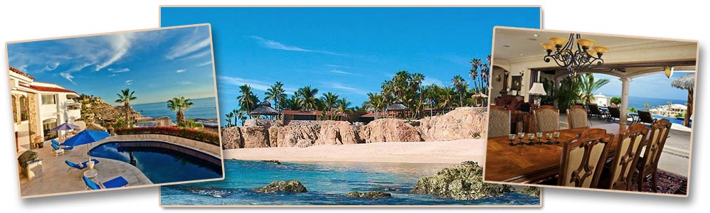 Private villas available for vacation rental in Los Cabos, Mexico