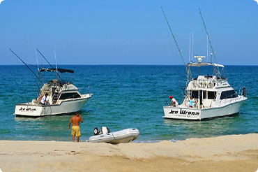 Fishing charters in the East Cape of Baja with Jen Wren