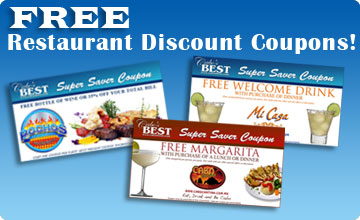 Free Cabo Restaurant Discount Coupons