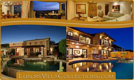 Rent luxury villas in Los Cabos