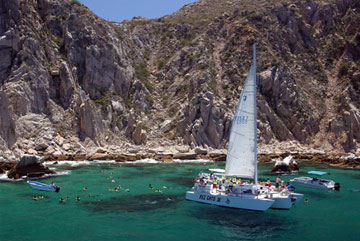 Snorkeling tour in Cabo with Pez Gato