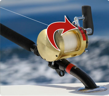 Presetting and marking drag pressure on conventional fishing reels