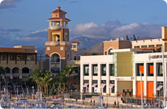 Puerto Paraiso Mall and Luxury Avenue in the Cabo San Lucas marina