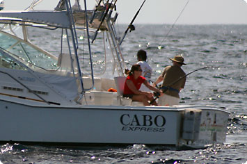 Charter fishing trip in Los Cabos